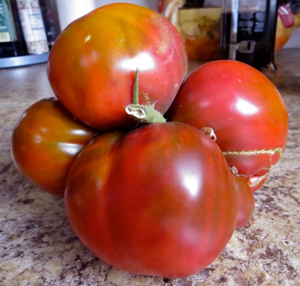 Ripen your tomatoes with these quick tips. Heirloom tomatoes like this may look deformed but have amazing flavor. Photo by Christine Willmsen