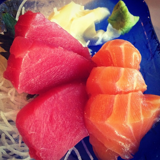 Large chunks of sashimi at Kozue restaurant make this the perfect quick dinner spot for one person. Photo by Christine Willmsen