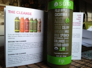 Suja offers six juices a day for the cleanse. Photo by Christine Willmsen
