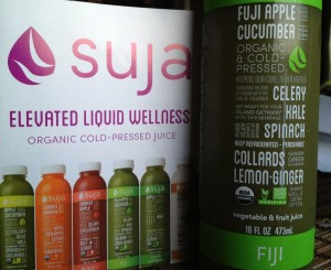 Suja three-day cleanse with organic fresh-cold pressed juices offered me a new healthy start. Photo by Christine Willmsen