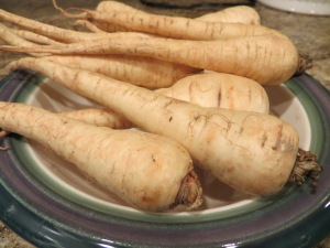 Parsnips are full of fiber and low-fat. Photo by Christine Willmsen