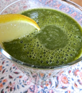 My kale smoothie will give you the kickstart you need in the morning. Photo by Christine Willmsen