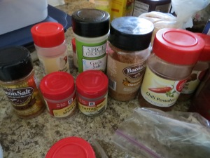 I threw all of these spices away because they had expired years ago. Buy smaller amounts in the bulk section. Photo by Christine Willmsen