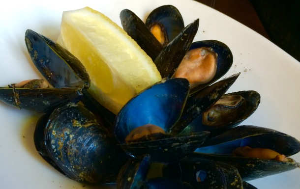 Valencian mussels are available during the summer months. Photo by Christine Willmsen